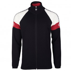 Dale of Norway Geilo Masc Jacket Black/ off white/ raspberry-20