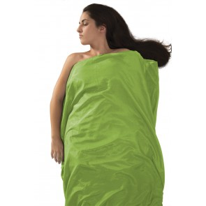 Sea To Summit Silk Stretch Liner Long (Rectangular) Green-20