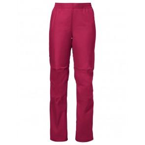 VAUDE Women's Drop Pants II crimson red-20