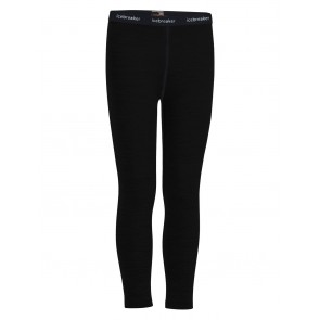 Icebreaker Kids 200 Oasis Leggings Black-20