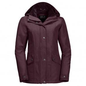 Jack Wolfskin Park Avenue Jacket burgundy-20