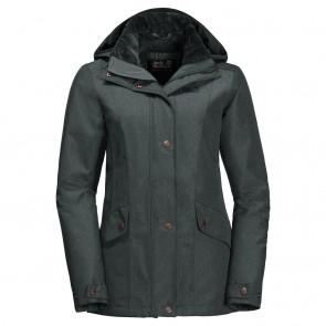 Jack Wolfskin Park Avenue Jacket greenish grey-20
