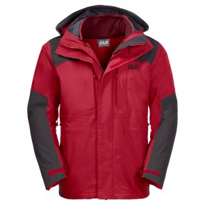 Jack Wolfskin Thorvald red lacquer-20