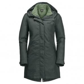 Jack Wolfskin Monterey Bay Coat greenish grey-20