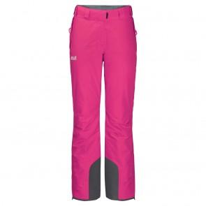 Jack Wolfskin Powder Mountain Pants W pink fuchsia-20