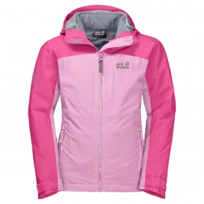 Jack Wolfskin Saana 3In1 Jacket Girls lilac-20