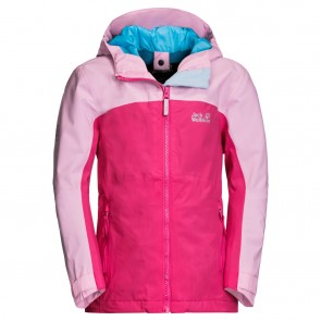 Jack Wolfskin Saana Jacket Girls pink peony-20