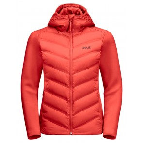 Jack Wolfskin Tasman Jacket W orange coral-20