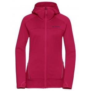 VAUDE Women's Tekoa Fleece Jacket crimson red-20