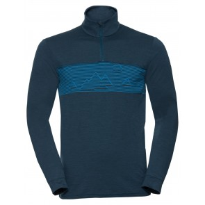VAUDE Men's Base Halfzip baltic sea-20