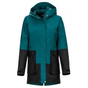 Marmot Women's Wend Jacket Deep Teal/Black-20