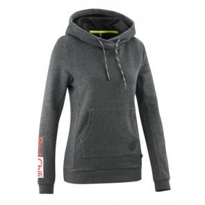Edelrid Wo Branding Hoody dark grey melange-20