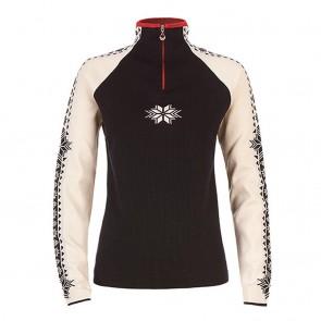 Dale of Norway Geilo Fem Sweater navy / off white / raspberry-20