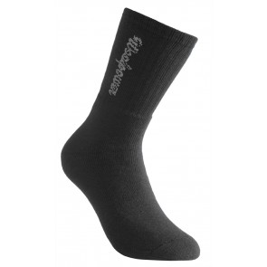 Woolpower Socks Classic Logo 400 (5 Pack) Black-20