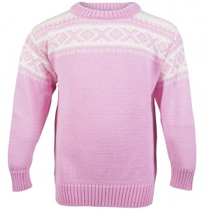 Dale of Norway Cortina Kids Sweater Pink candy/ off white-20