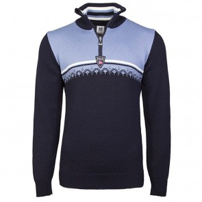 Dale of Norway Lahti masculine sweater L Navy / Blue shadow / off white-20