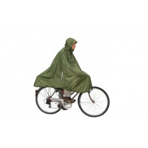 Daypack & Bike Poncho green-20