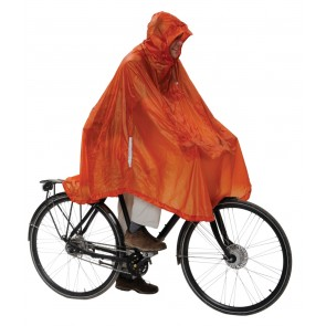 EXPED Daypack & Bike Poncho UL terracotta-20
