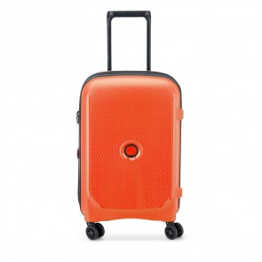 Delsey Belmont Plus 4 Double Wheels Expandable Cabin Trolley 55 CM Orange-20