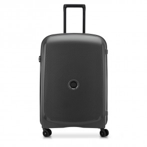 Delsey Belmont Plus 4 Double Wheels Trolley 71 CM Black-20