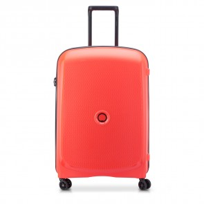 Delsey Belmont Plus 4 Double Wheels Trolley 71 CM Faded Red-20