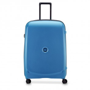 Delsey Belmont Plus 4 Double Wheels Expandable Trolley 76 CM Zink Blue-20
