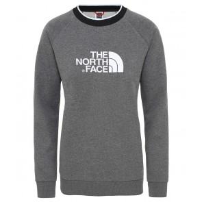 The North Face Women's Redbox Long-Sleeve T-Shirt TNF MEDIUM GREY HEATHER-20