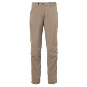 VAUDE Women's Farley ZO Capri Pants muddy-20