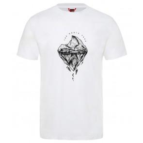 The North Face Men's Flash T-Shirt TNF WHT/TNF BLCK/TNF BLCK-20