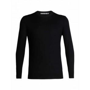 Icebreaker Mens Shearer Crewe Sweater Black-20
