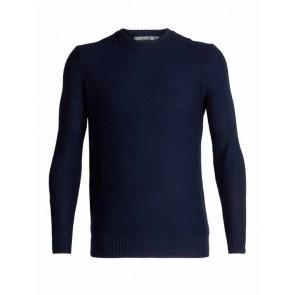 Icebreaker Mens Waypoint Crewe Sweater Midnight Navy-20