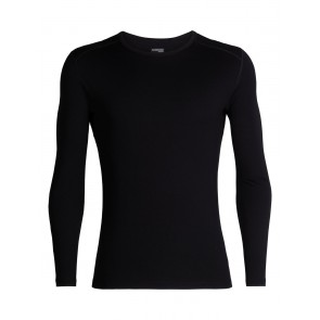 Icebreaker Mens 260 Tech LS Crewe Black-20