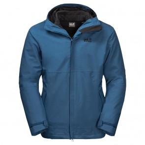 Jack Wolfskin Bornholm 3In1 Jacket M XXL indigo blue-20