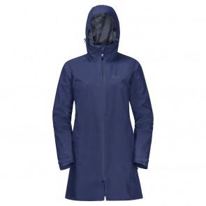 Jack Wolfskin Jwp Coat W lapiz blue-20