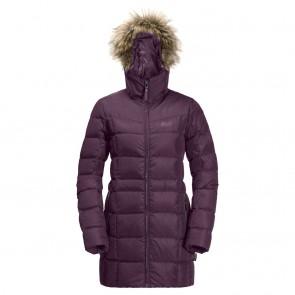 Jack Wolfskin Baffin Island Coat L aubergine-20