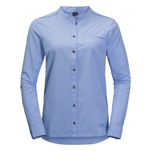 Jack Wolfskin Victoria Roll-Up Shirt W L shirt blue-20
