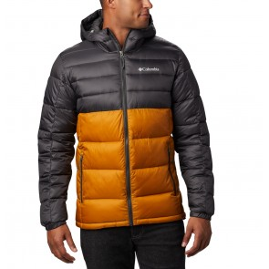 Columbia Buck Butte Insulated Hooded Jacket Burnished Amber, Shark-20