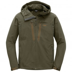 Outdoor Research Men's Ferrosi Summit Hooded Jacket fatigue-20