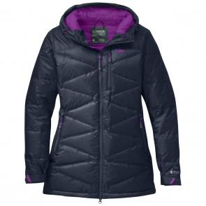Outdoor Research OR Women's Floodlight Down Parka night/ultraviolet-20