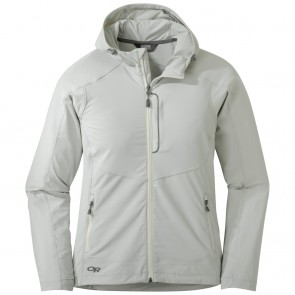Outdoor Research Women's Ferrosi Hooded Jacket alloy-20