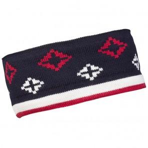 Dale of Norway Seefeld headband navy / raspberry / off white-20