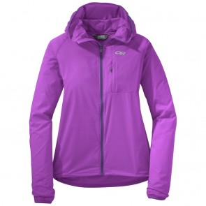 Outdoor Research Women's Tantrum II Hooded Jacket ultraviolet/purple rain-20