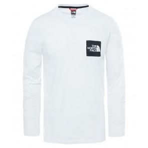 The North Face Men's Fine Long-Sleeve T-Shirt TNF WHITE-20