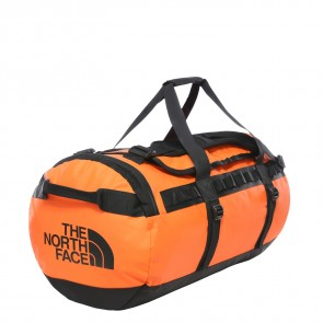 The North Face Base Camp Duffel M PERSIAN ORANGE/TNF BLACK-20