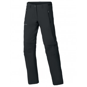 VAUDE Women's Farley Stretch ZO T-Zip Pants black-20