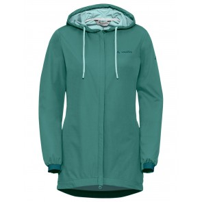 VAUDE Women's Cyclist Softshell Jacket nickel green-20