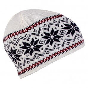 Dale of Norway Garmisch Hat Off White / Navy /  Raspberry-20
