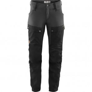 FjallRaven Keb Trousers W Short 32 Black-Stone Grey-20