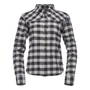 Black Diamond W Spotter Ls Flannel Shirt Limestone-Ash Plaid-20
