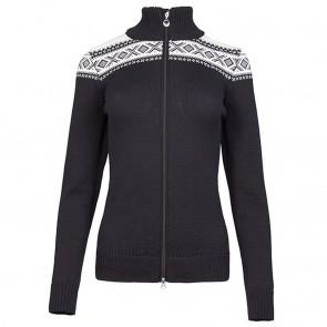 Dale of Norway Cortina Merino Fem Jacket Black / off white-20